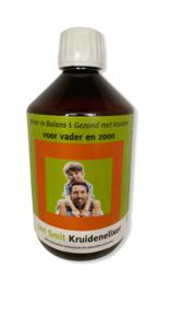 Jan Smit Beter in Balans gezond met kruiden voor vader en zoon 500 ml