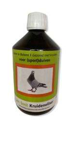 Jan Smit Kruidenelixer voor (sport) duiven en hobby dieren 500 ml