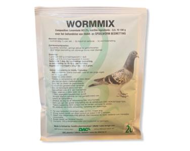 Dac Wormmix 100 gram voor duiven