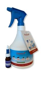Bloedluisbehandelpakket (1x Finecto+ 1000 ml + 1x Koudijs Luis-Worm 10 ml)