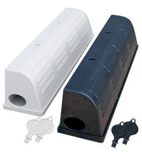 Snap E Cover Zwart  bestemd voor 2 muizenvallen