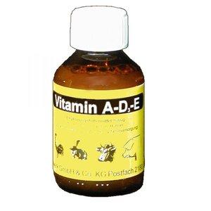 Klaus 2934 Vitamine A-D3-E  voor pluimvee en knaagdieren 100 ml